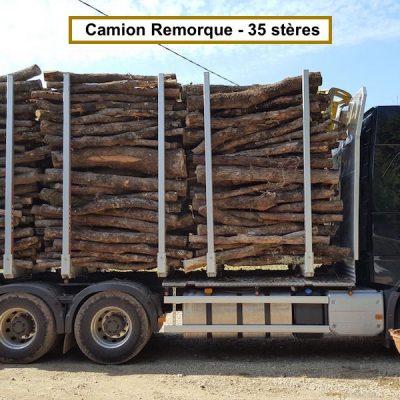 Bois de chauffage charme longueur 2m alliance bois de chauffage - Frene bois de chauffage ...
